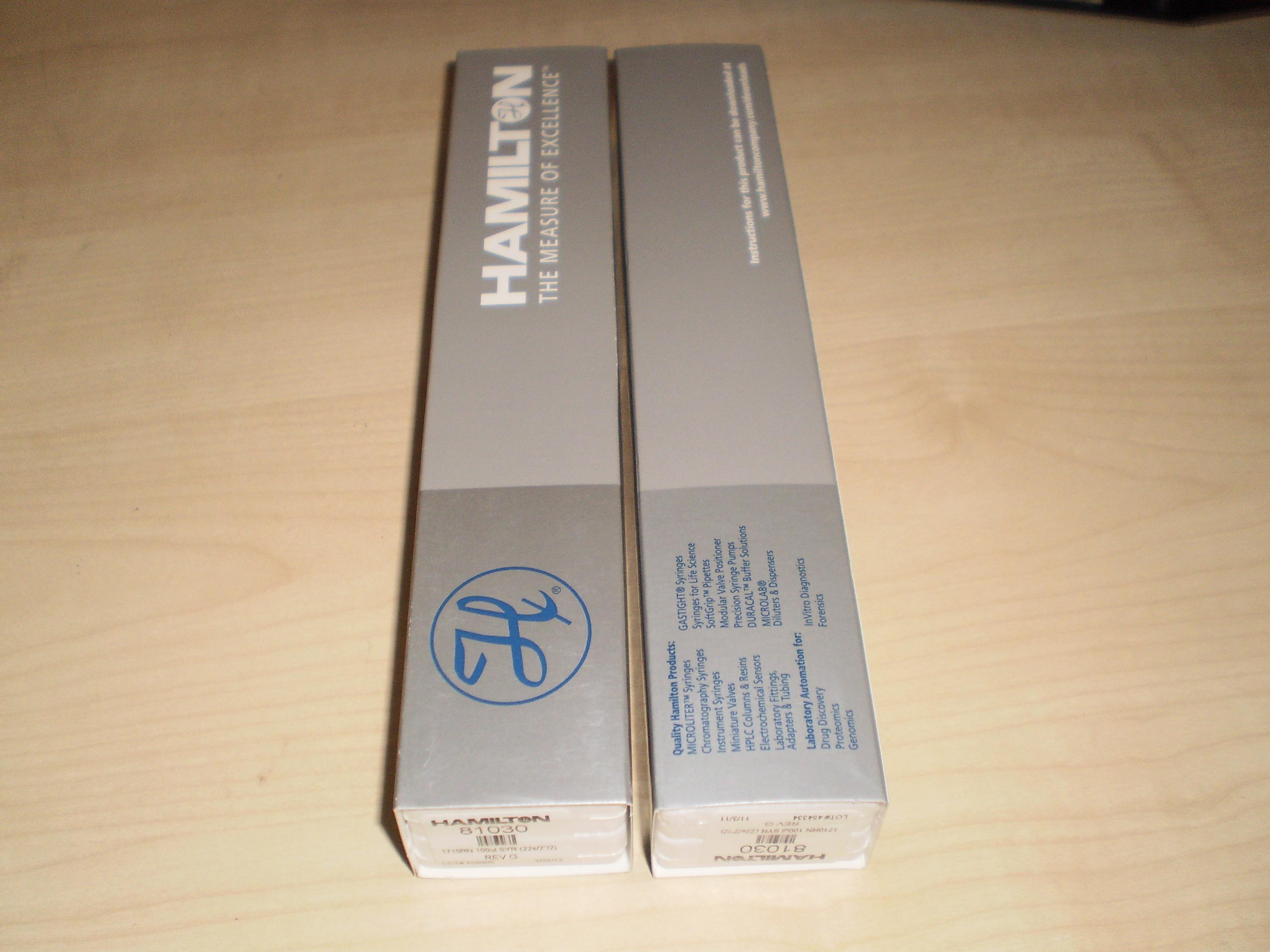 Hamilton 阴离子交换色谱柱PRP-X100货号79433