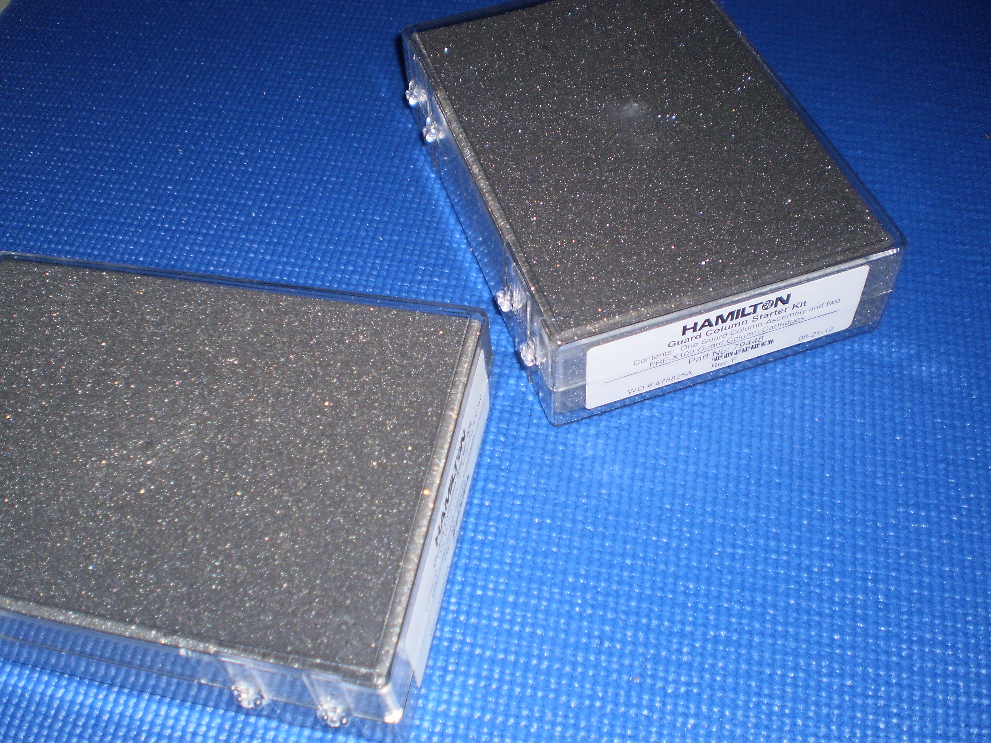 Hamilton 阴离子交换色谱柱PRP-X100保护柱及卡套79448
