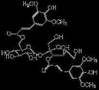 139891-98-83, 6′-二芥子酰基蔗糖