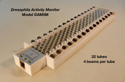 TriKinetics果蝇行为监测系统Drosophila Activity Monitor system果蝇行为记录仪监控模块