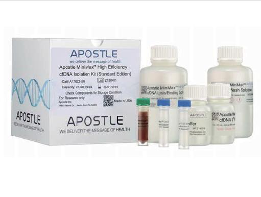 Apostle MiniMaxTM 高效游离 DNA 分离富集试剂盒