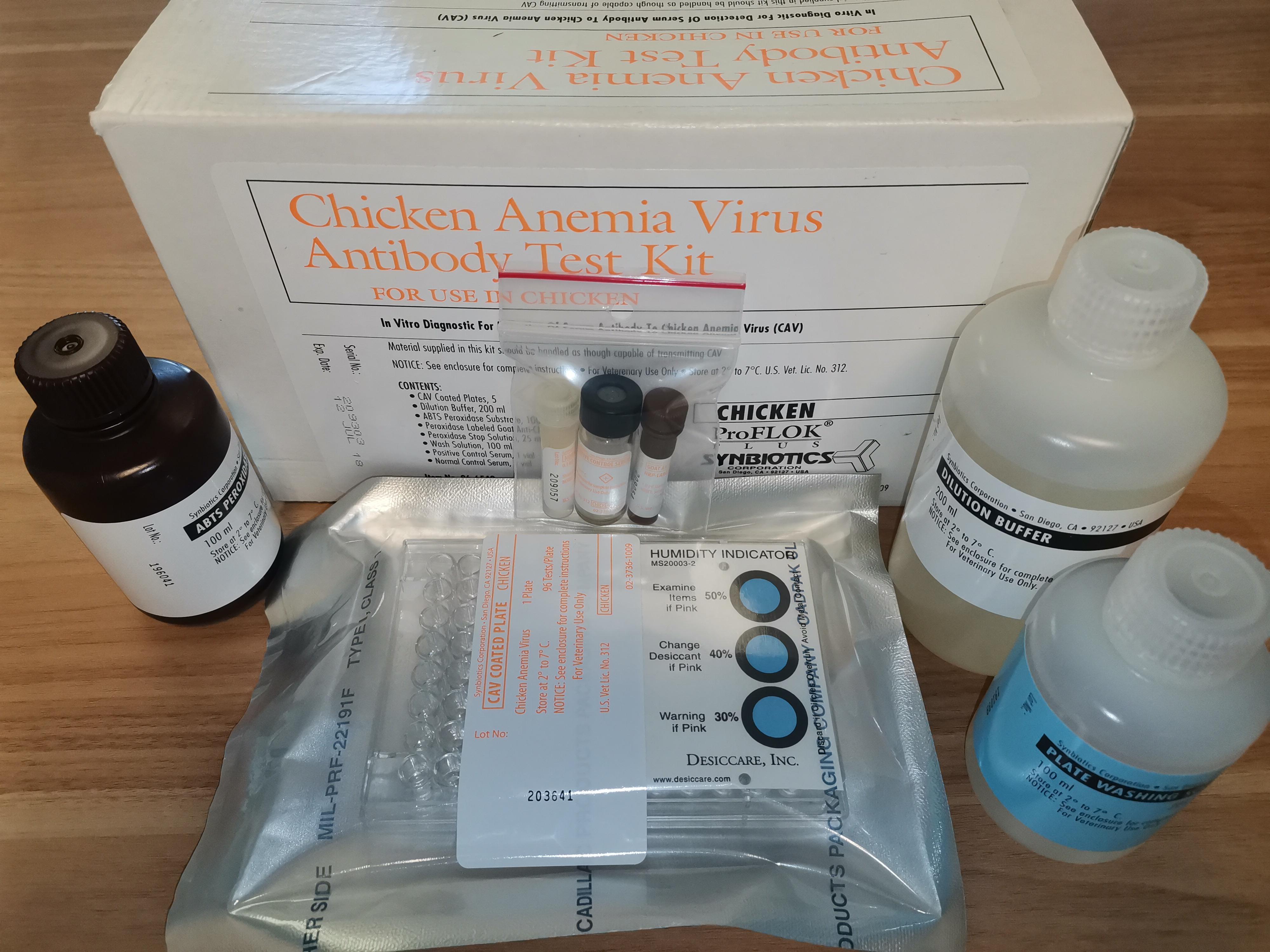禽传染性贫血检测