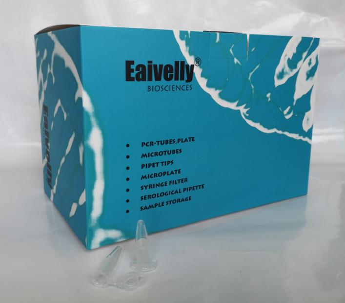 Eaivelly,2.0ml 透明微量離心管