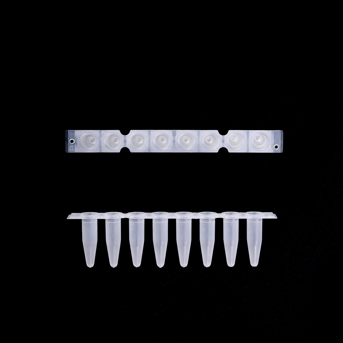EU 0.2 ml 薄壁八联管(加强连接)