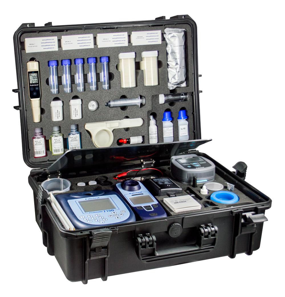 Potatech9型标准版便携式水质分析实验室