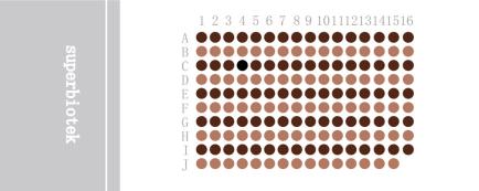 直肠癌生存期组织芯片REC1601