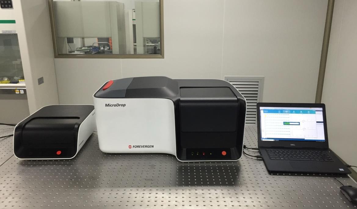 永诺生物MicroDrop-100微滴式数字PCR仪