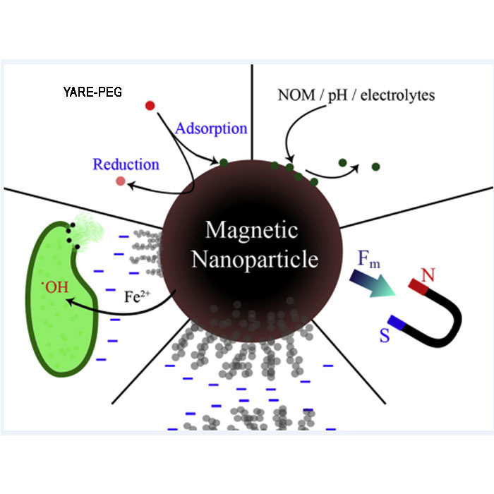 Fe3O4 Magnetic nano 四氧化三鐵 納米磁珠 納米粒子