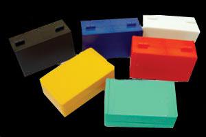 12片装载玻片存储盒