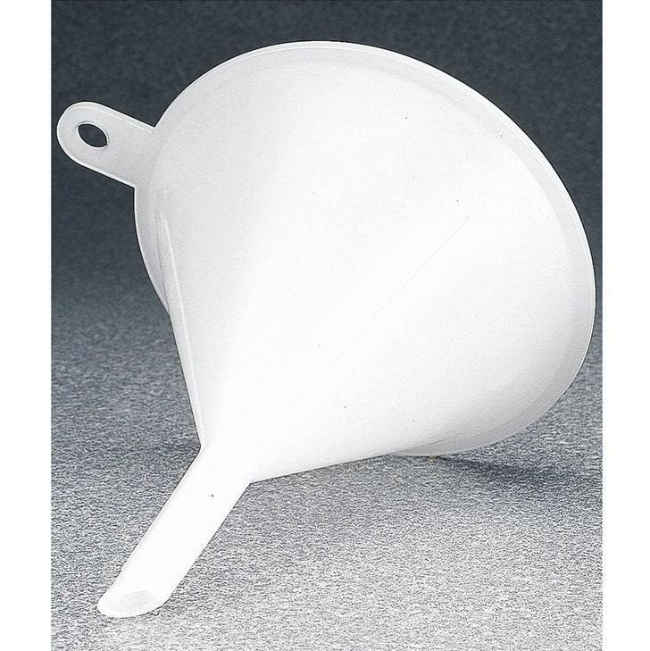 耐用型漏斗,低密度或高密度聚乙烯,漏斗顶部内径6英寸