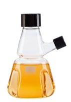WHEATON 有傾倒口的胰酶消解瓶