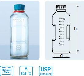 DURAN® YOUTILITY 实验室试剂瓶,GL 45 口径