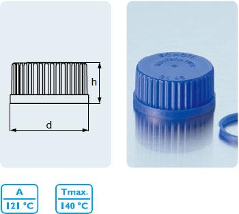 螺旋蓋 PP1 材質, 防啟封
