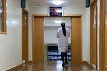 浙江大学医学院附属第一医院郑霞医生出发前的背影