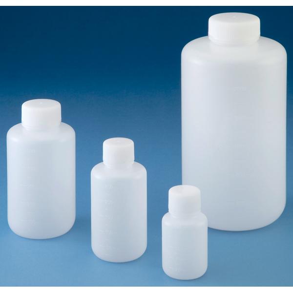 亚速旺ASONE PE瓶 (圆形窄口・白色)Jボトル 丸型細口 J BOTTLE