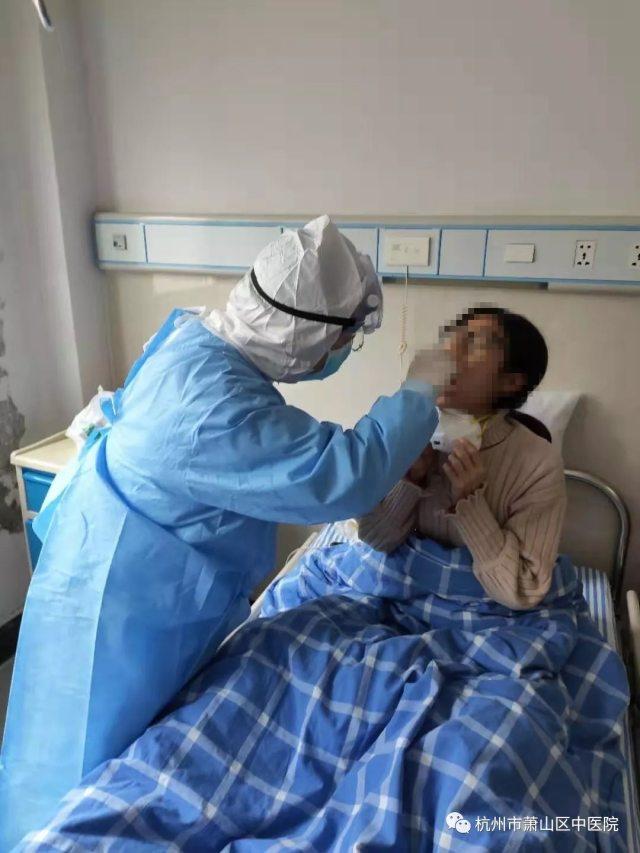 杭州市萧山区中医院防控前线:隔离留观区里的那些坚强卫士