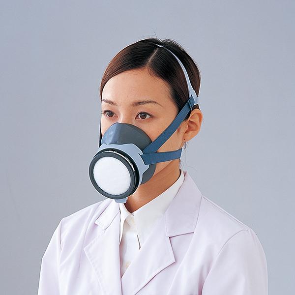 亚速旺ASONE 防毒面罩 (低浓度用0.1%以下)防毒マスク RESPIRATOR