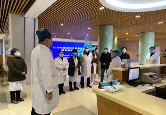 上海市第二康复医院开展疑似病例应急演练
