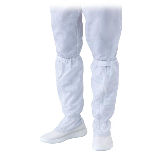 亚速旺ASONE 无尘靴 (带拉链?长型)アズピュアクリーンブーツ ASPURE SAFETY BOOTS FOR CR