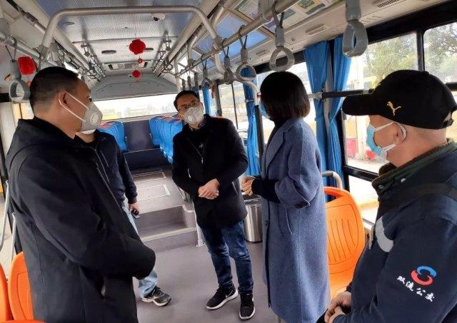 京东方医院专家现场来指导公交车上防疫