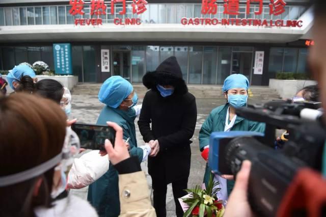 雪中静美的河南省人民医院,又有 5 名患者治愈
