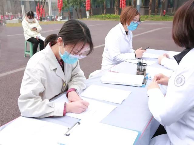 重庆市血液中心联合北部宽仁医院开展无偿献血活动