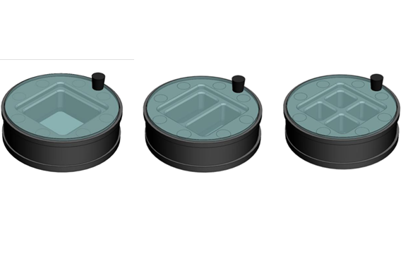 CMS ?35mmDish方形蓋玻片共聚焦培養皿