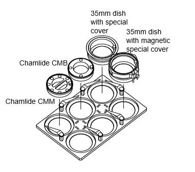 MD 35mm Dish和CMB磁吸組合組培養