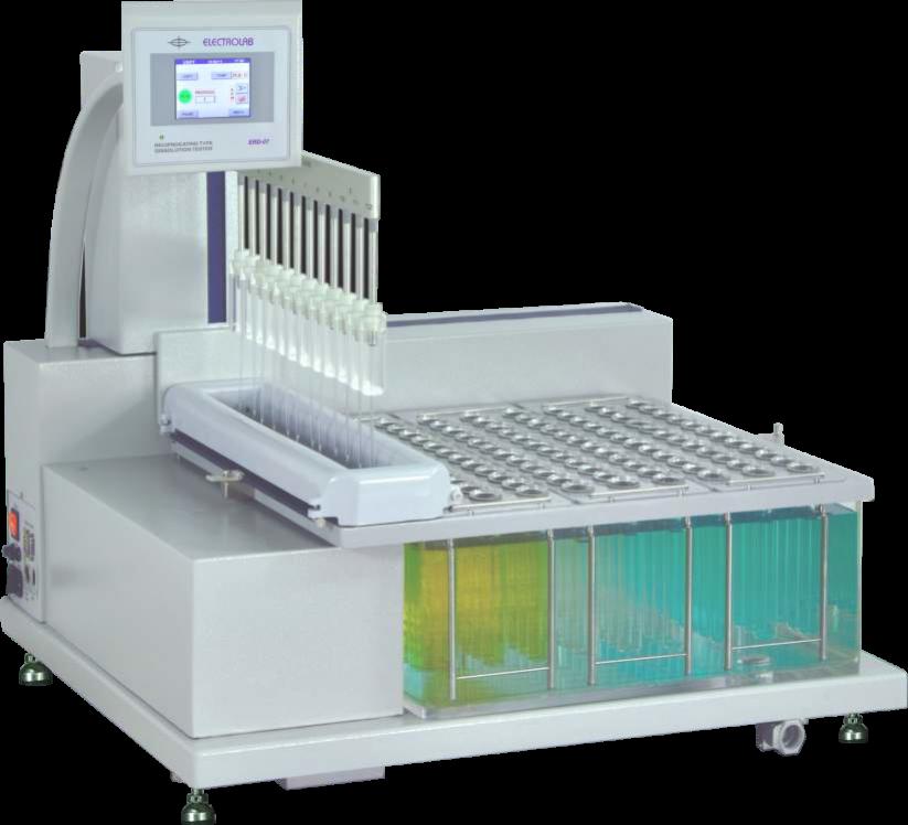 Electrolab ERD-37往复式溶出仪( USP 3 、7仪器)