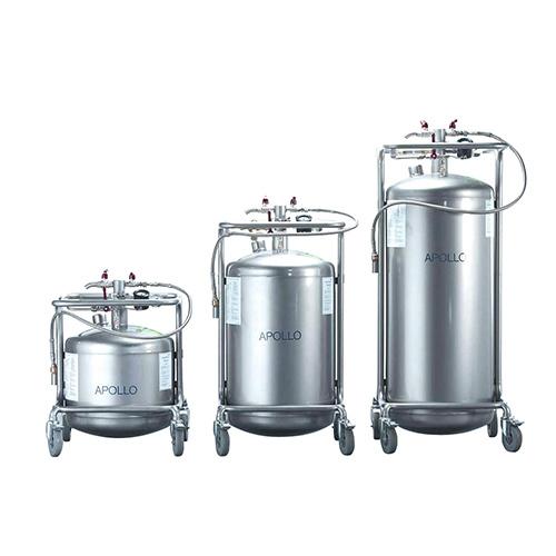 普迈WIGGENS APPOLO系列不锈钢液氮储存运输罐
