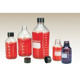 普迈WHEATON 透明玻璃带刻度线培养基瓶