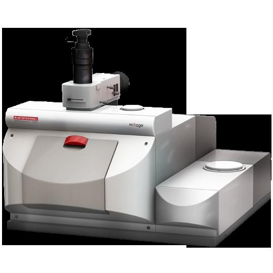 非接触亚微米分辨红外拉曼同步测量系统