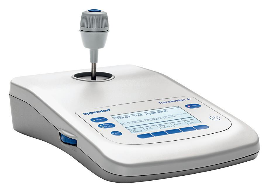 Eppendorf TransferMan® 4 显微操作仪
