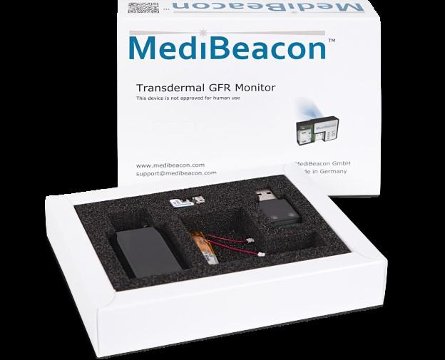 普迈Medibeacon大小鼠GFR实时监测系统