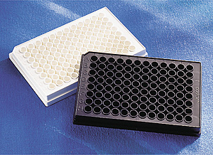corning 96孔板,白色, 发光检测