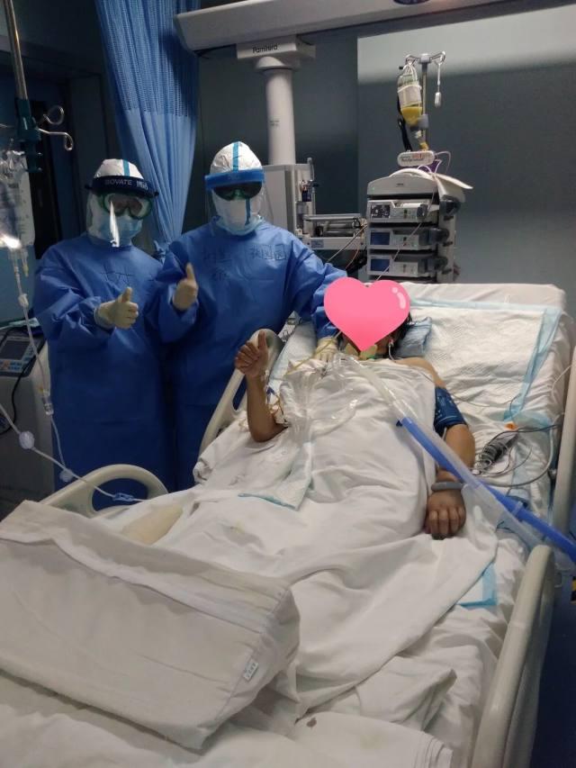 树兰杭州医院援汉日记 ⑭   全力以赴,挽救我们的战友!