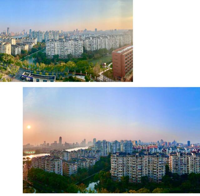 陳先生住院時拍攝的日窗外風景.png