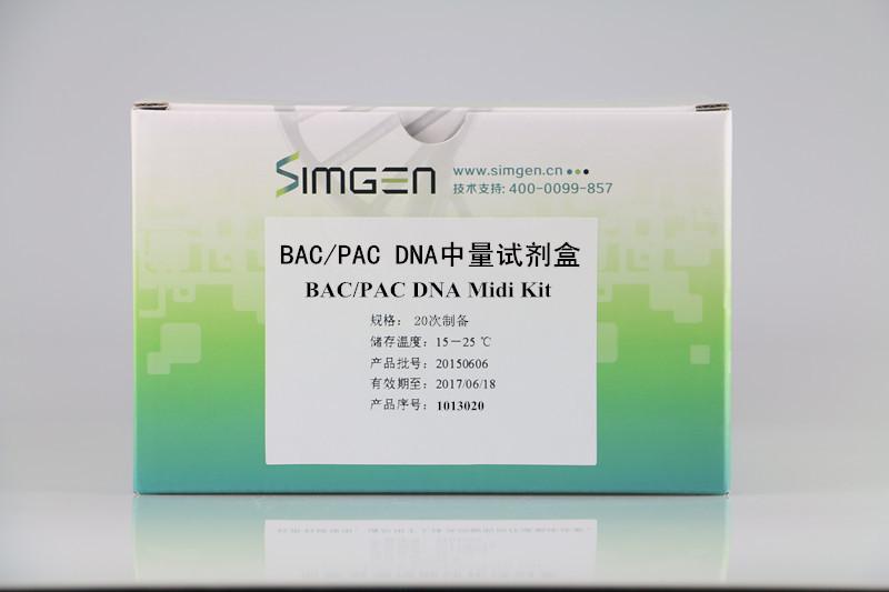 BAC/PAC DNA中量试剂盒