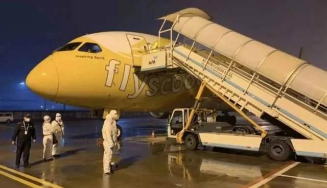 一位曾陷入绝望的 TR188 航班乘客 给萧山发来了感谢信