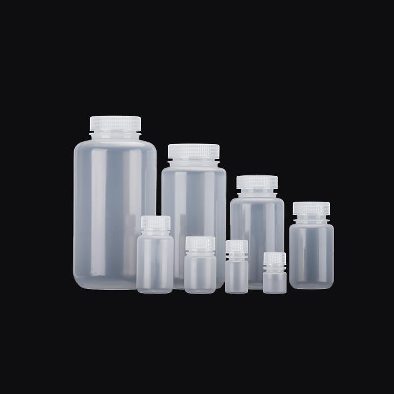 无酶免洗/无菌8、15、30、60、125、250、500、1000ml塑料瓶加厚pp广口透明试剂瓶耐高温250ml/250g