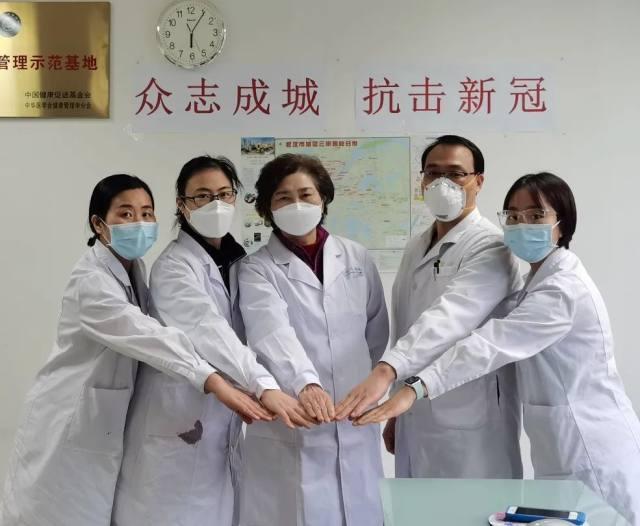 省科技厅领导来访树兰 调研抗疫应急科研攻关情况