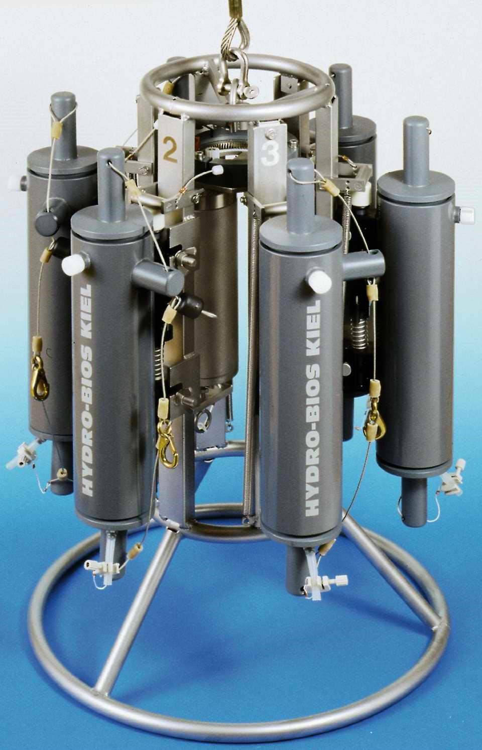 德国HYDRO-BIOS公司--Slimline多通道水样采集器