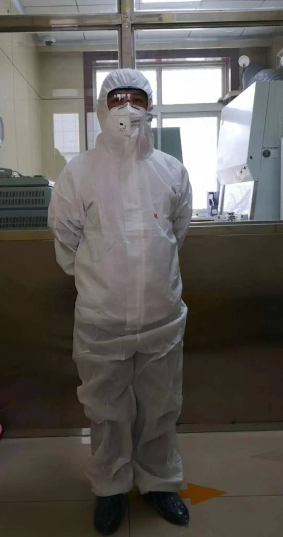 延大附属医院:与病毒近距离接触的新型冠状病毒 核酸检测人