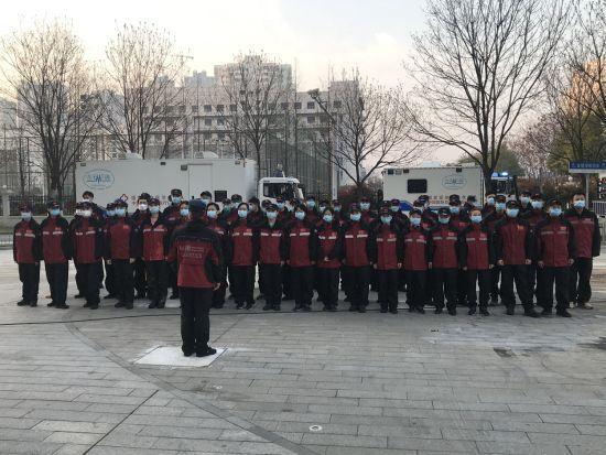 同济大学附属东方医院国家紧急医学救援队今凯旋