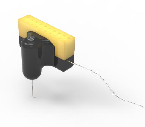 可调电极神经细胞胞外记录多通道在体电生理微丝MEA铂依电极