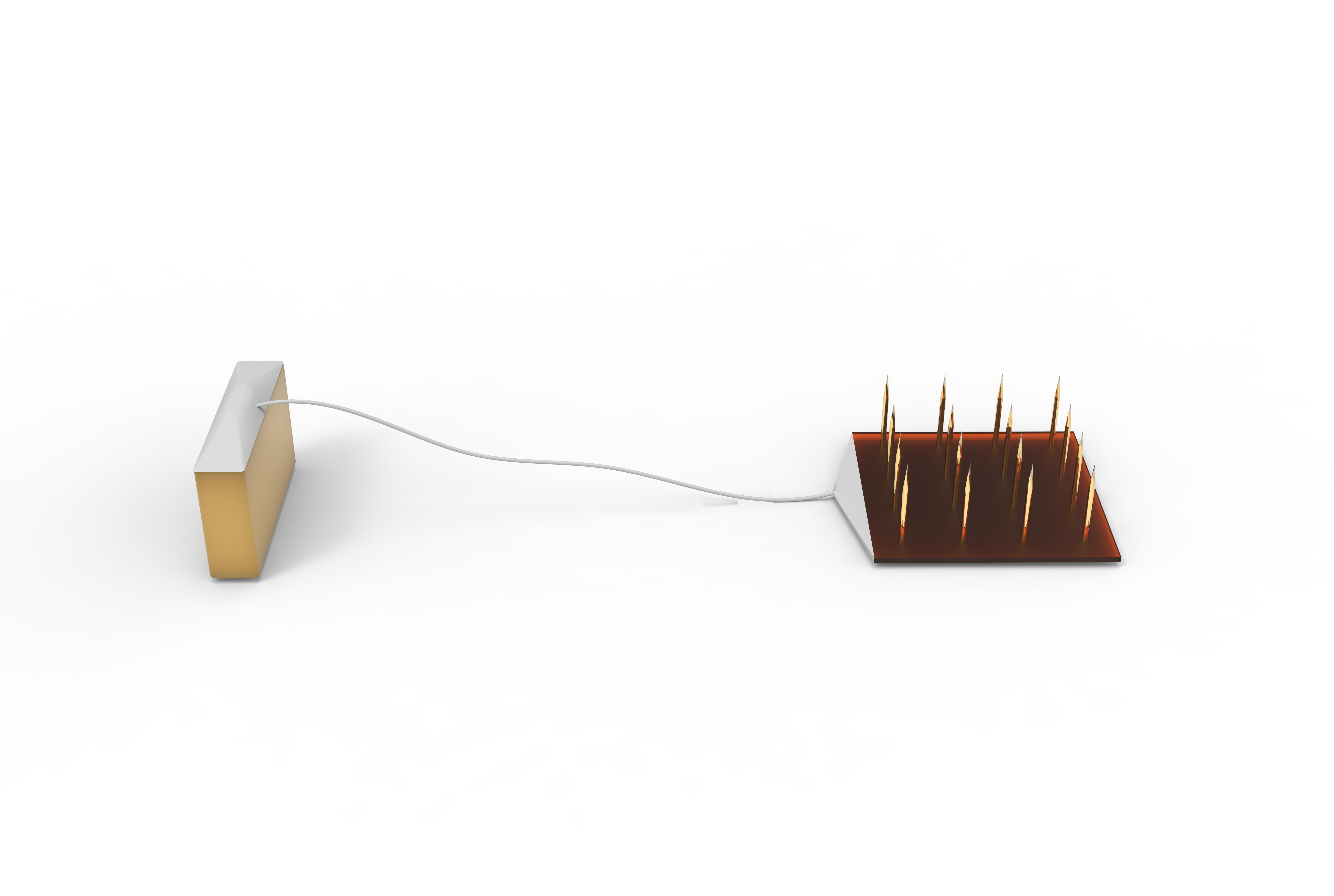 浮动式阵列电极 Floating MEA脑电神经微电极多通道电生理 电极