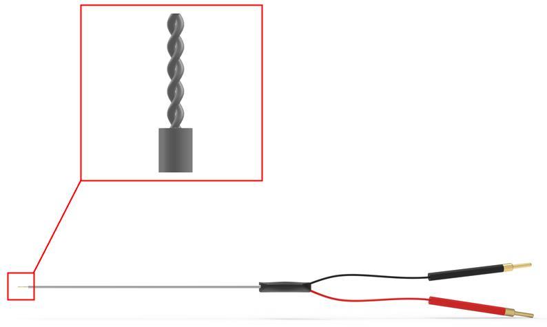 绞合双极刺激离体脑片神经胞外刺激LTP诱发电位双通道刺激电极