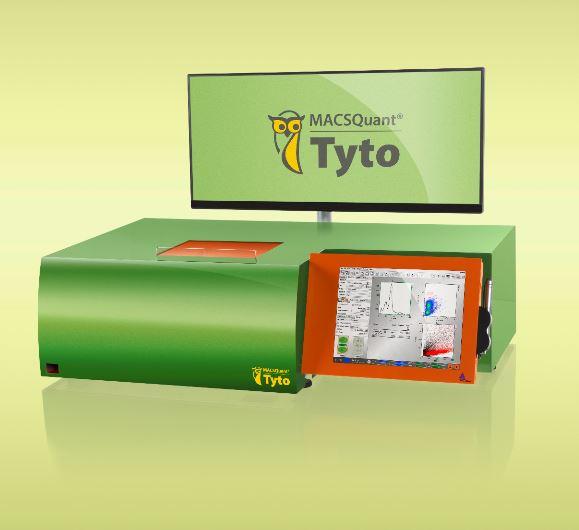 MACSQuant Tyto——基于微芯片的流式细胞仪