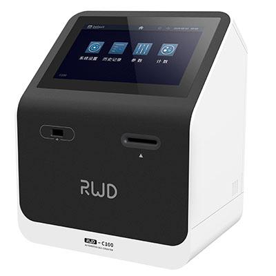 瑞沃德C100自动细胞计数仪