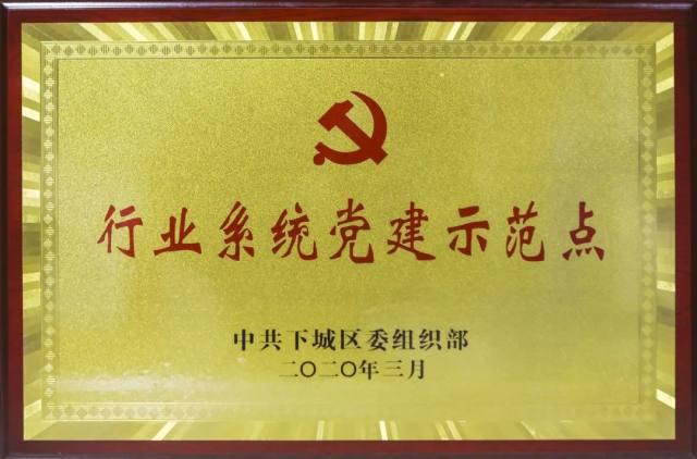 荣誉 | 树兰杭州医院党委被授予下城区「行业系统党建示范点」